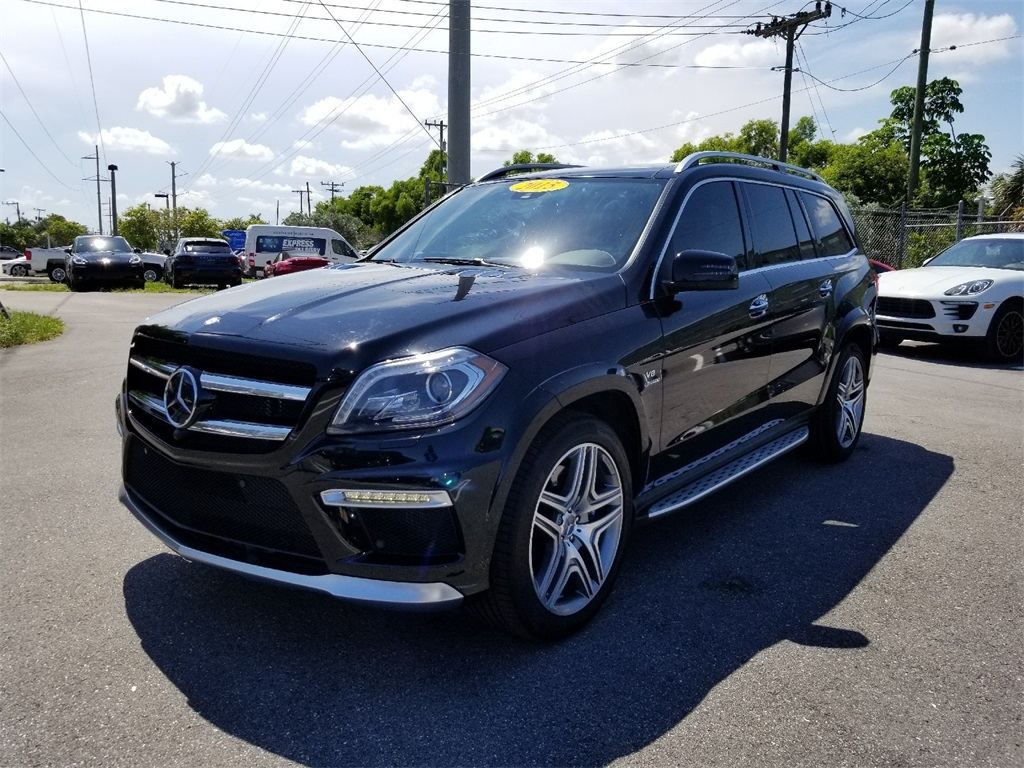 Pre-Owned 2015 Mercedes-Benz GL-Class GL 63 AMG