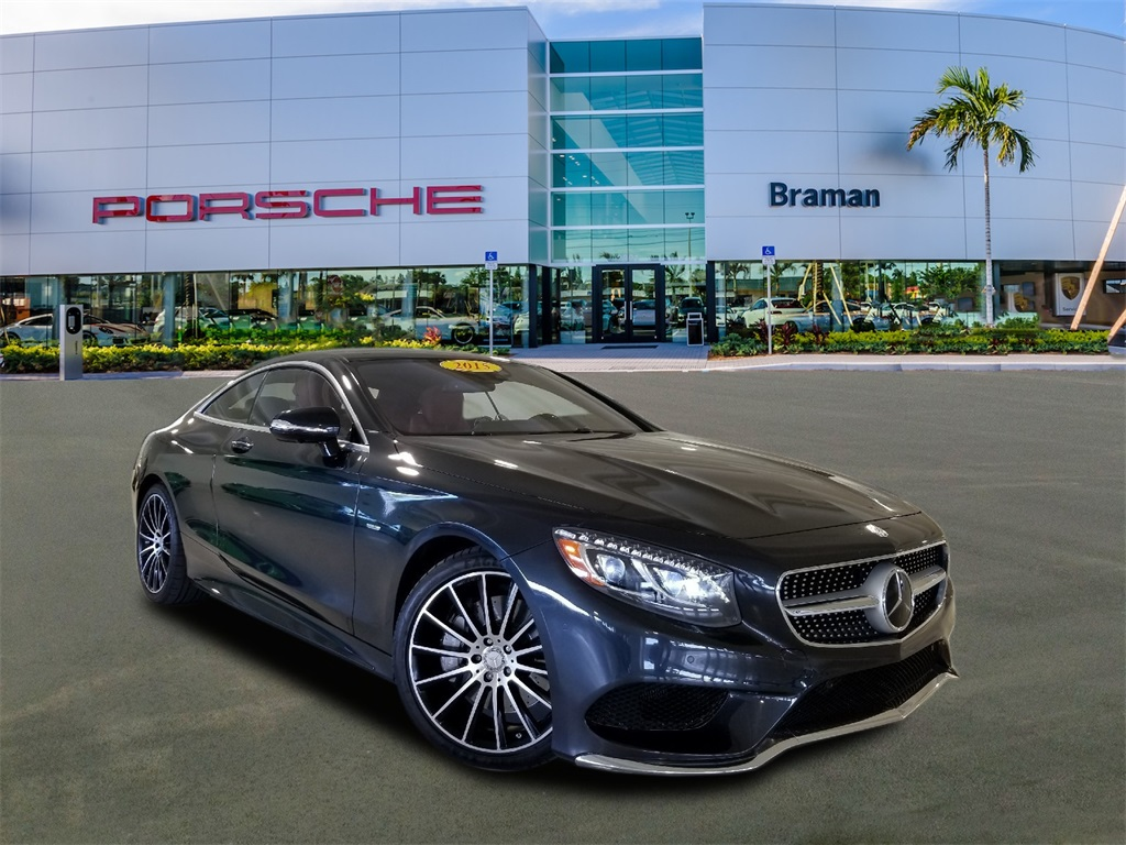 Pre Owned 2015 Mercedes Benz S Class S 550