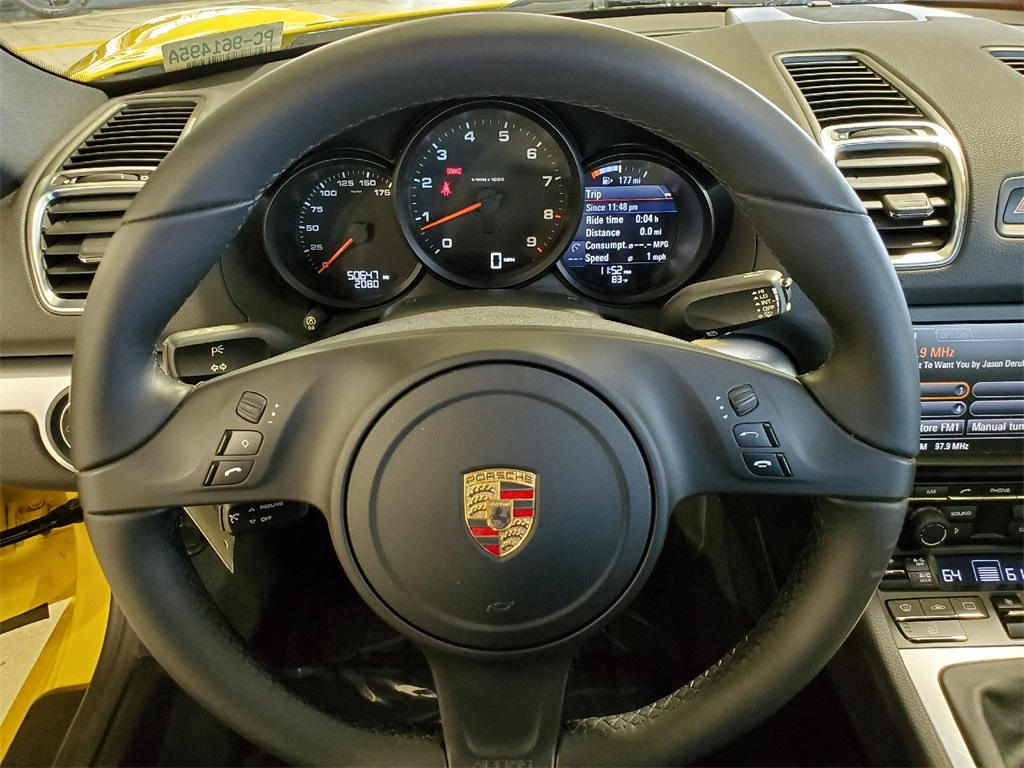 Certified Pre-Owned 2015 Porsche Cayman Base