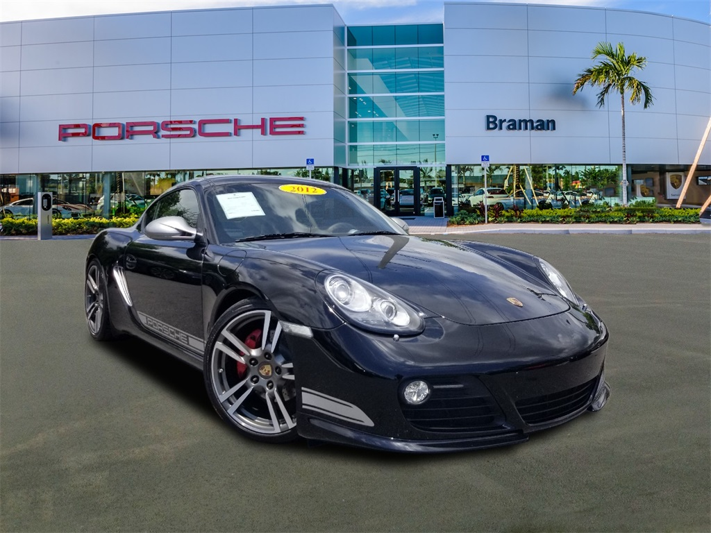Certified Pre-Owned 2012 Porsche Cayman R