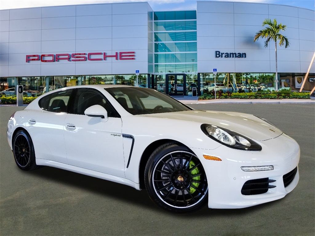 Certified Pre Owned 2016 Porsche Panamera Hybrid S