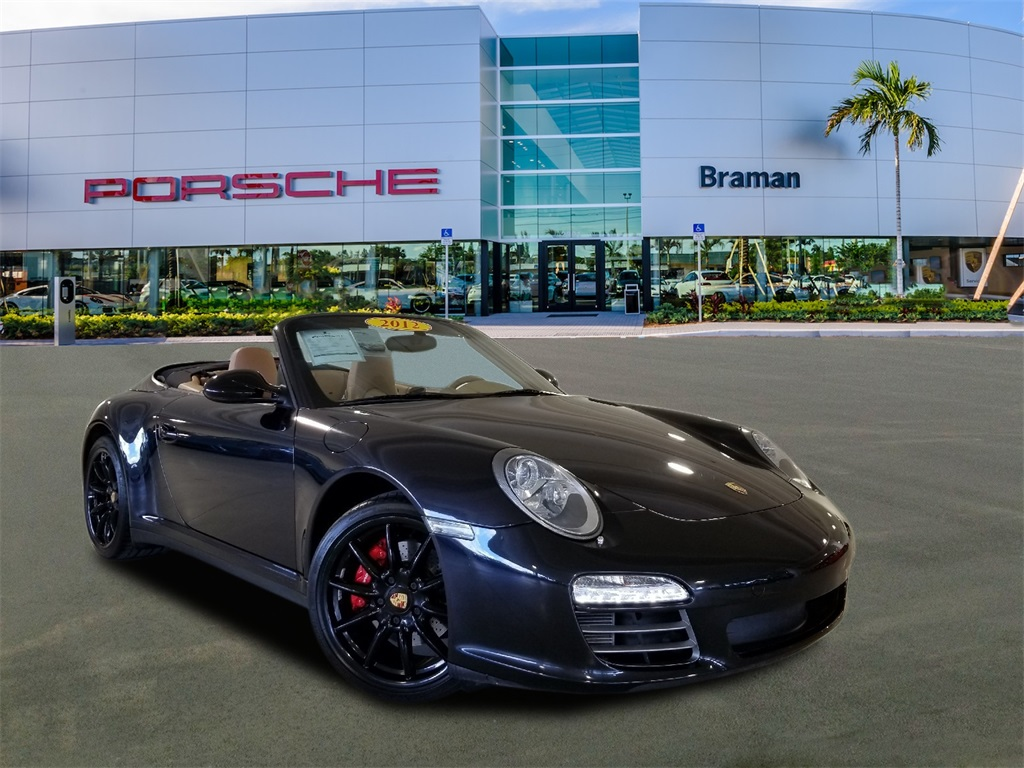 Certified Pre-Owned 2012 Porsche 911 Carrera 4