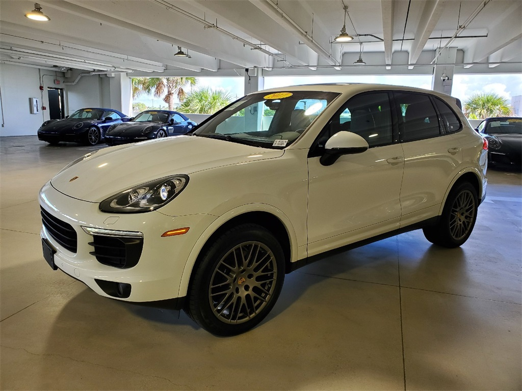 Certified Pre-Owned 2017 Porsche Cayenne Platinum Edition