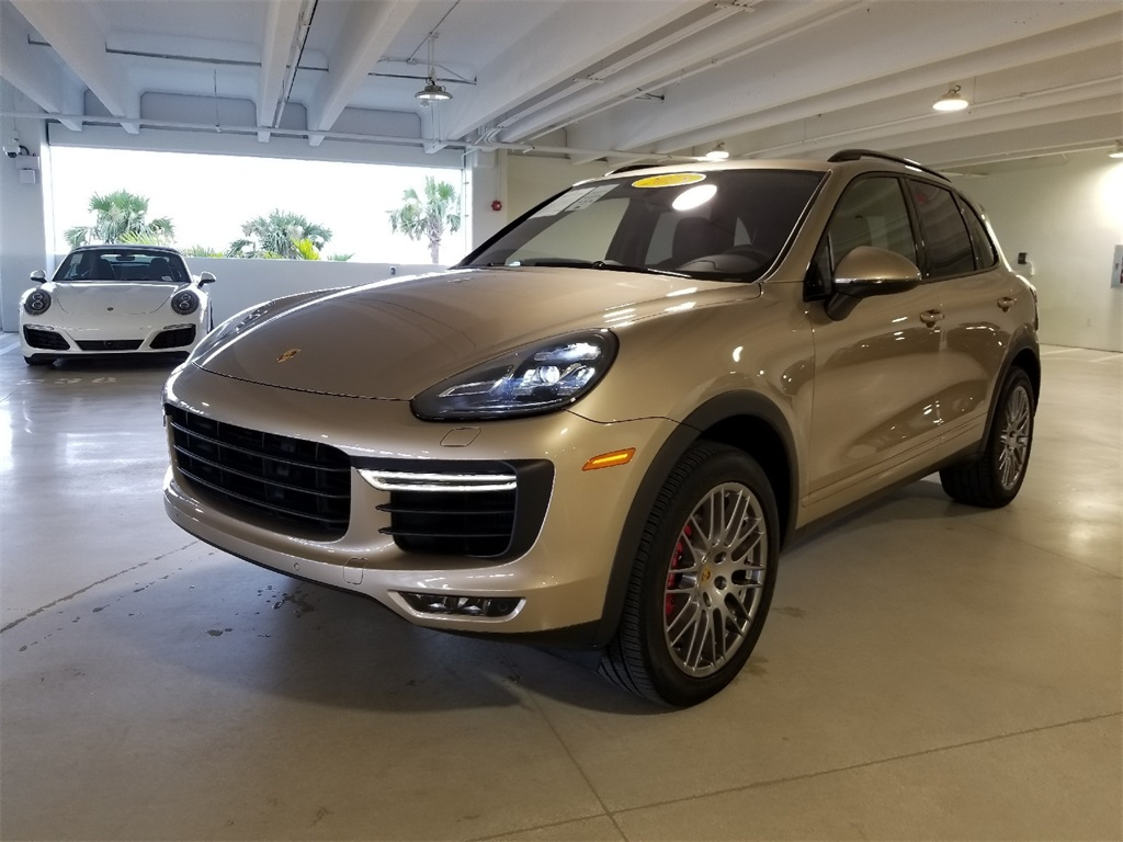 Certified Pre-Owned 2015 Porsche Cayenne Turbo