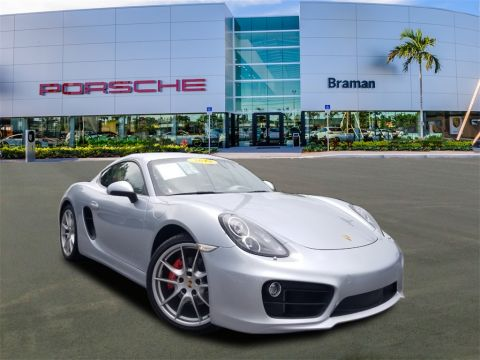 Certified Pre-Owned 2014 Porsche Cayman S