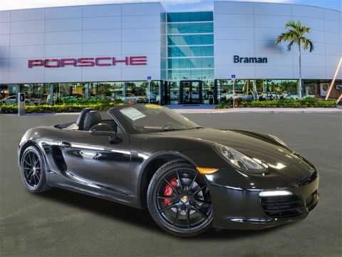 Certified Pre-Owned 2016 Porsche Boxster S