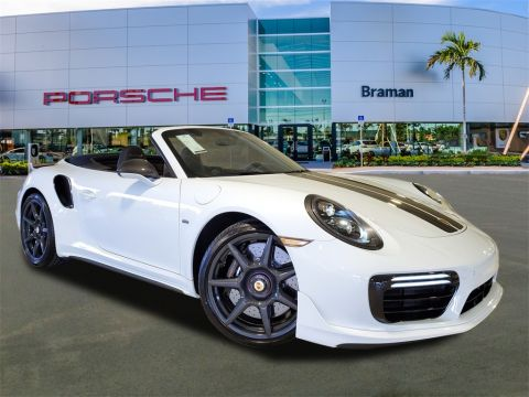 New 2019 Porsche 911 Turbo S Cab Exclusive Series
