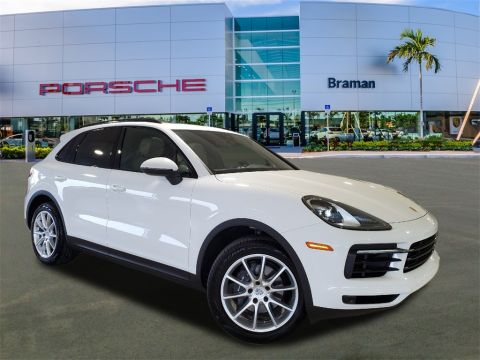 Certified Pre-Owned 2019 Porsche Cayenne Base